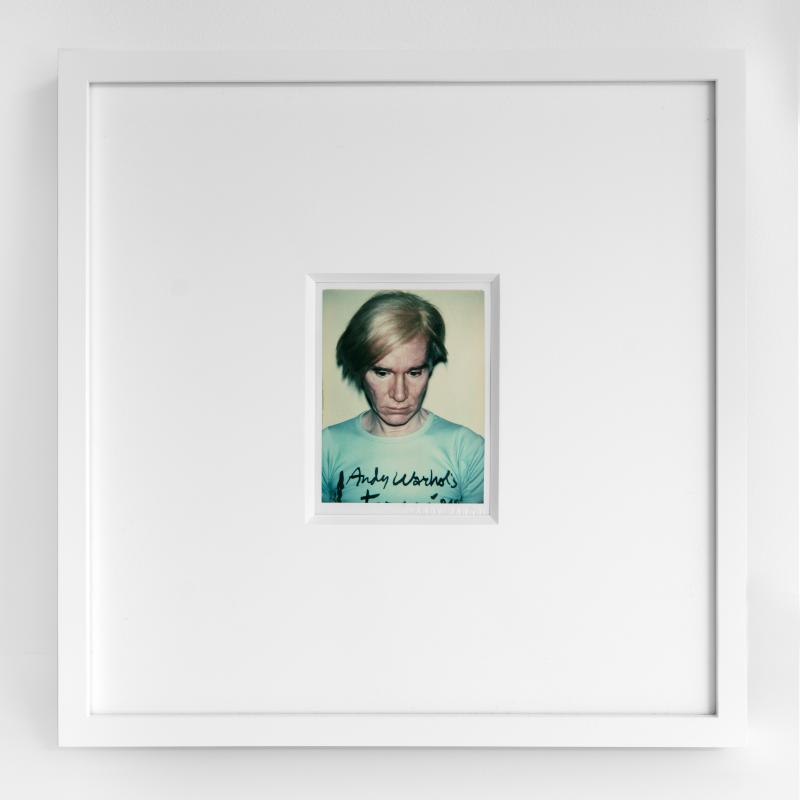 Andy Warhol, AW77.026 Self-Portrait, galerie italienne